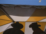 Men Cook Pancakes in a Tent at a Festival in Santa Fe