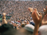 Crowds Numbering over 100 000 Gather During the College Football Season to Cheer Penn State