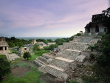 View of the Mayan Ruins at Palenque