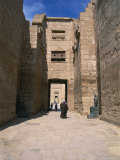 The Massive Mortuary Complex at Medinet Habu  Site of the Tomb of King Ramses Iii