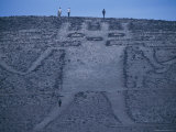El Gigante  a 282 Foot Tall Geoglyph  in Cerro Unita