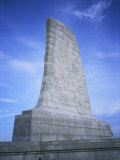 Close View of the Wright Brothers National Monument