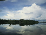 Sky Reflected in the Orinoco River in Venezuela
