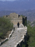 Simatai  Great Wall  Beijing  Hebei Province  China
