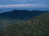The Ridges of Old Rag Mountain at Sunset