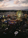 County Fair  Yakima Valley  Rides and Midway  Twilight View