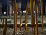 Burning Incense at the Qingyun Temple