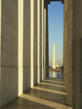 View of the Washington Monument from across the Tidal Basin