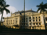 The Hanoi Opera House and Palm Trees