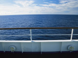 Deck of a Cruise Ship in the South Pacific Ocean