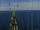 Mackinac Bridge  St Ignace  Michigan