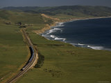 Coast Starlight Train  California