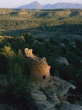The Remains of a Tower Built by the Anasazi