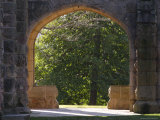Stone Arches Open onto Campus