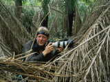 Photographer Steve Winter Waits to Photograph a Jaguar in the Wild