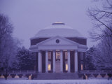 The Rotunda Lightly Covered in Snow