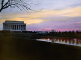 The Lincoln Memorial at Twilight