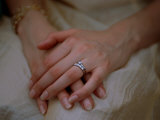 Close View of a Brides Hands