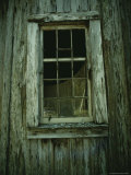 A Window in a Weathered Building