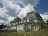 One of the Many Pre-Columbian Maya Ruins on the Yucatan Peninsula