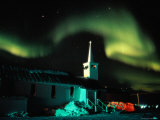 Northern Lights over the Town of Churchill