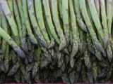 Asparagus at a Market in Provence