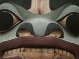 Closeup of Totem Pole
