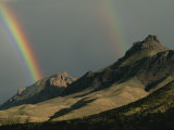 Double Rainbow over the Chisos Mountains