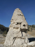 Liberty Cap Formation at Mammoth Hot Springs