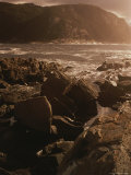 A Twilight View of Tsitsikamma National Parks Rocky Coastline