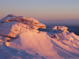 Winter View of the Top of Brocken Mountain
