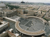 The Basilica and Colonnaded Square  Vatican City