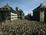 Men of Appenzell Assemble at the Annual Constitutional Assembly