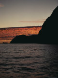 A Twilight View of Guadalupe Island  Mexico