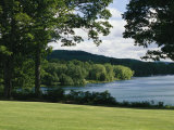 A Scenic View of Otsego Lake Near Cooperstown  New York