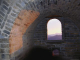 View Through a Window in a Tower on the Great Walls Mutianyu Segment