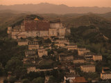 Sunset over Potala Temple  Chengde  Hebei Provence  China