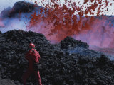 Photographer Carsten Peter Shoots Turbulent Volcanic Action