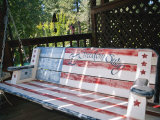Let Freedom Swing Swinging Bench; Sutter Creek is a Mining Town in the Gold Country of California