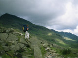 A Hiker Gazes Towards Ben Nevis