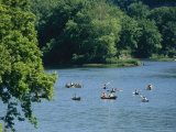 Canoeists and Kayakers on the Susquehanna River