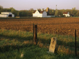 A Cemetery at Historic Stevens Creek Farm Near Lincoln  Nebraska
