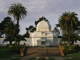 A View of the Conservatory of Flowers in Golden Gate Park