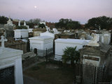 A View of the Above-The-Water-Table Crypts at the Saint Louis No 1 Cemetery