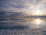 Spring Thaw of Sea Ice