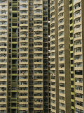 Public Housing High Rise in Kowloon  Hong Kong