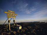 The Summit of Mt Kilimanjaro