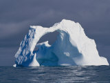 Arched Iceberg in the Arctic Ocean