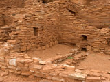 Long-Cut House  a Ruin Believed to Been Inhabited by Hopi Ancestors