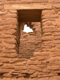 Wukoki Pueblo Window and Masonry Detail
